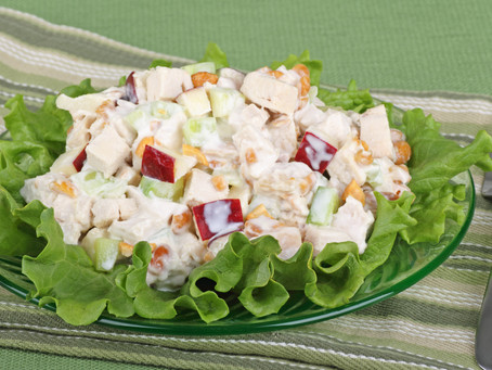 Apple Pecan Hearty Chicken Salad