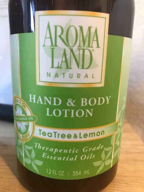 AromaLand Hand and Body Lotion TeaTree and Lemon