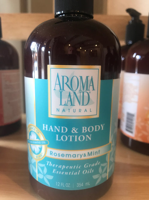 AromaLand Hand and Body Lotion Rosemary and Mint