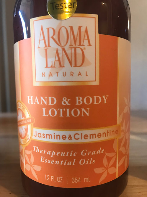 AromaLand Hand and Body Lotion Jasmine and Clementine