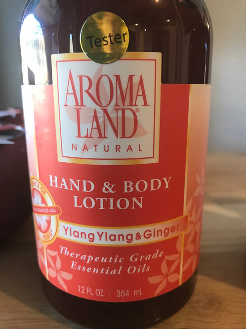 AromaLand Hand and Body Lotion Ylang Ylang and Ginger