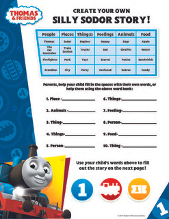 Create your own Thomas Story - Disorder