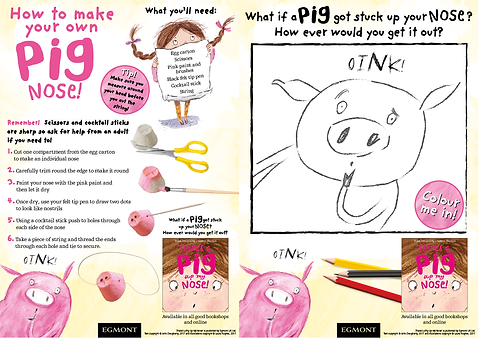 There's-A-Pig-Up-My-Nose-Activity-Sheet.