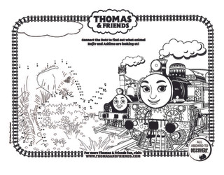 Thomas & Friends dot-to-dot Elephant_s.j