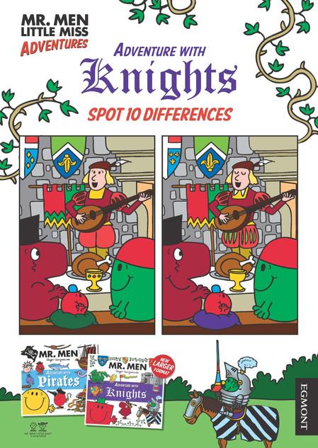 Mr Men Adventure With Knights activity.j