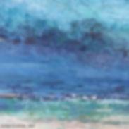 Evasion détail Acrylique 110 x 110 cm