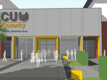 Foil tape for a £33 million campus in Coventry