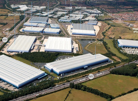 Amazon's new warehouse in Milton Keynes