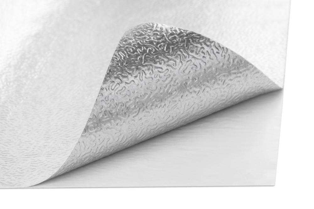 KlasseCLAD Backing_Textured-Silver