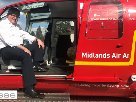 Midlands Air Ambulance Visit