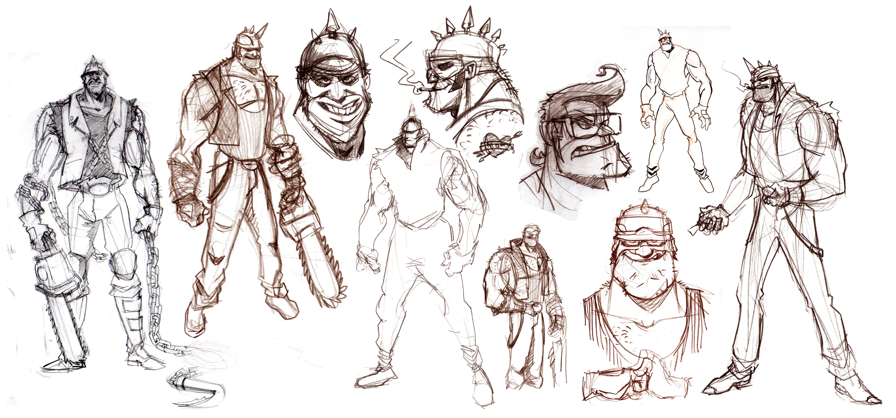 Chopper Sketches