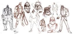 Chopper Sketches