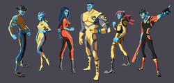 Bionic Six (The Bennet Family)