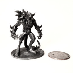 Lizard Warrior (table top edition)