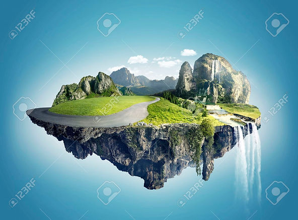 68411059-magic-island-with-floating-isla