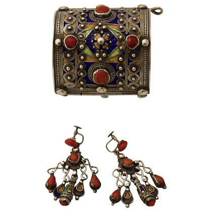 Antique Algierian Jewelry Set
