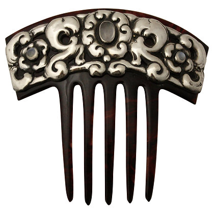 Art Noveau Haircomb