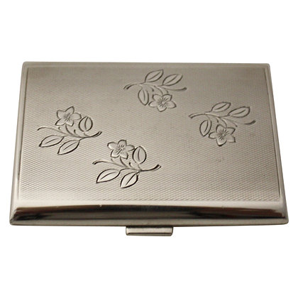 Silver Cigarette or Buisnesscard Holder