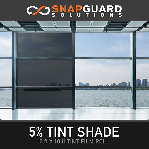 Window Tint For Buildings (5ft x 10ft)