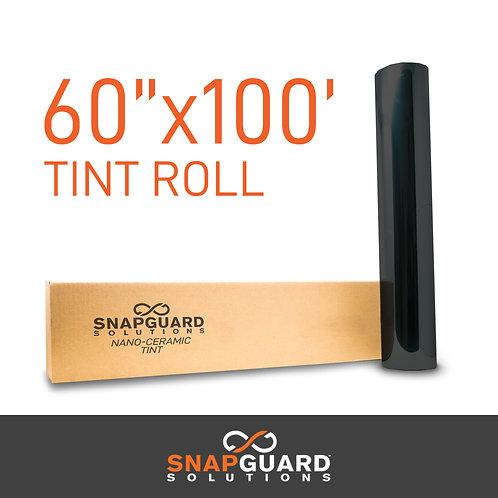 """SS Window Tint Film 60"""" x 100' Roll"""