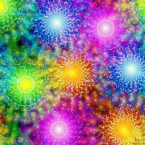 12.2017-7 Multi color sun