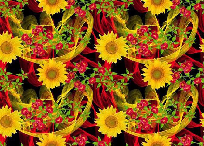 # 9.18.5 Sunflowers w/red flowers