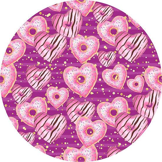 V-4 Donut hearts