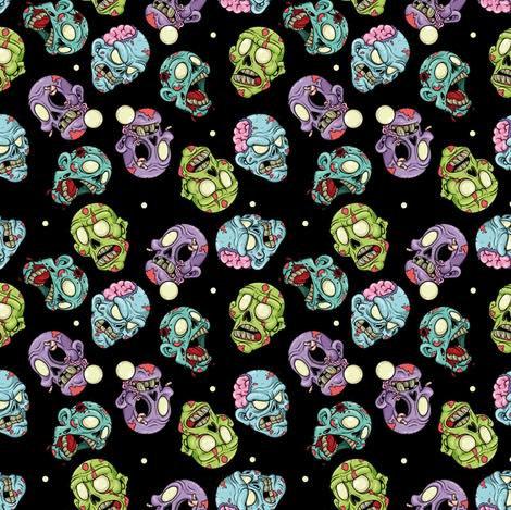 # 6.34 Zombie head, black