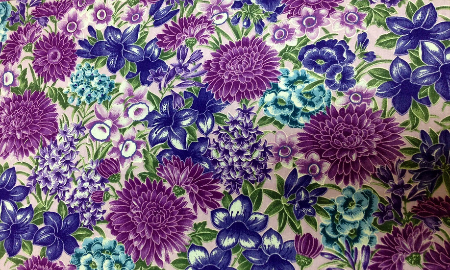 # GA26 Purple florals