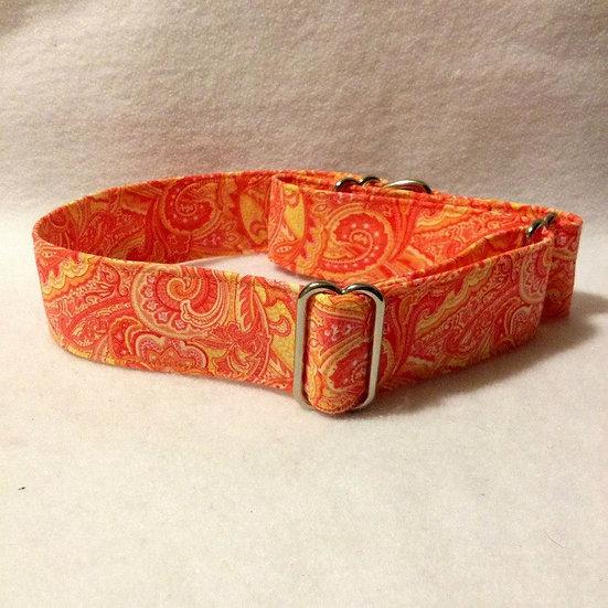 PA306 Orange Paisley
