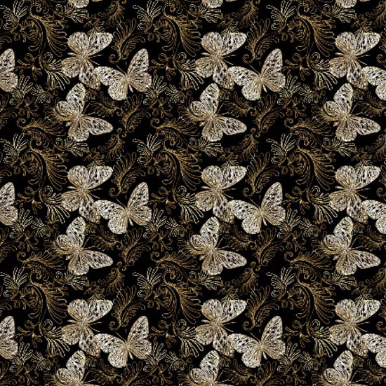# 2019-47 Butterflies on brown