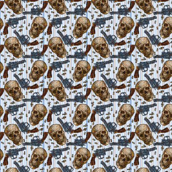 BF18 Skull and Gun