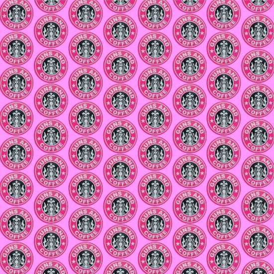 2019-25 Guns and Coffee, pink