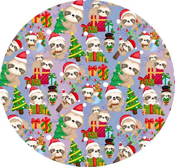 # C-12  Christmas sloths