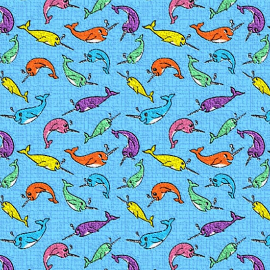 1.19-14 Narwhal, multicolor