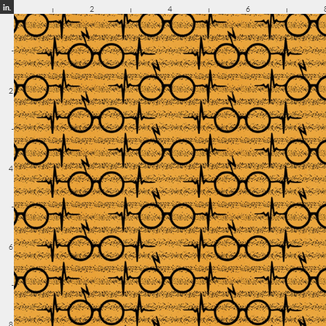 Wizard Glasses, yellow