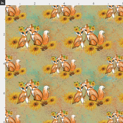 Foxes and Sunflowers