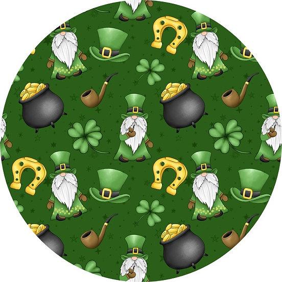 1-2020-31 St Patrick, green background