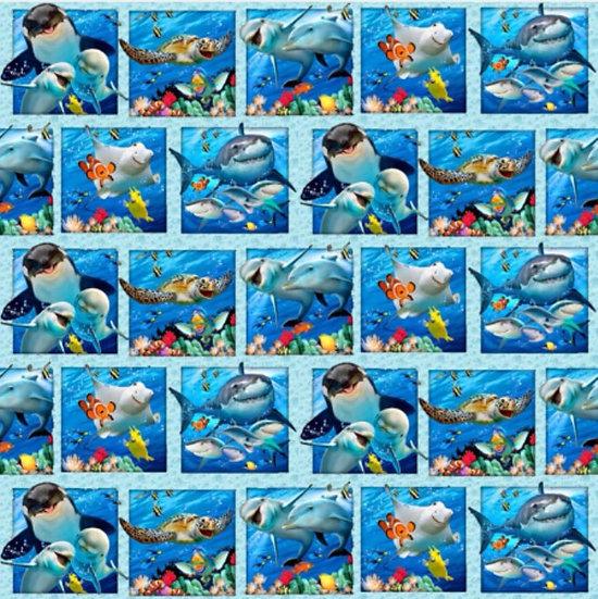 # 9.18.103 Sea animals squares