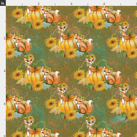 Fox and Pumpkins