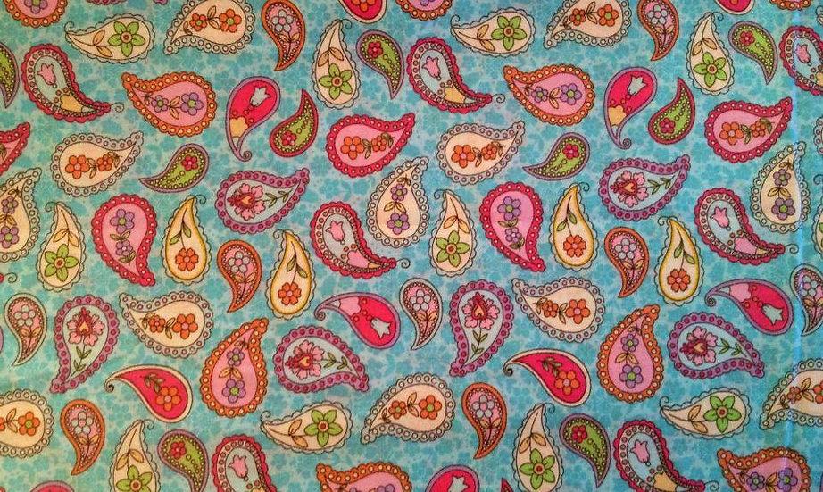 PA231 Multi color Paisley