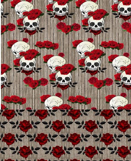 3.19-37 Dual Skulls and Roses