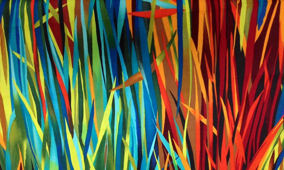 # GA154 Multi color leaves