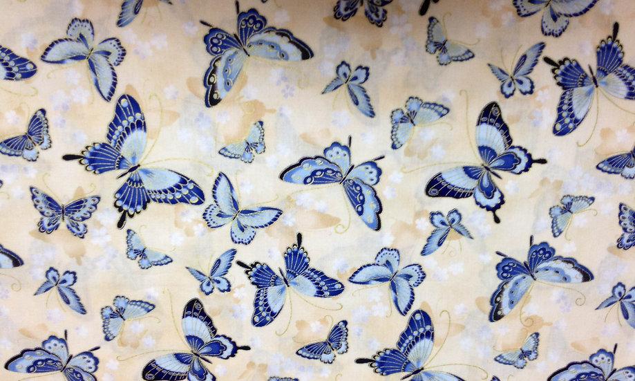 IN62 Blue Butterflies