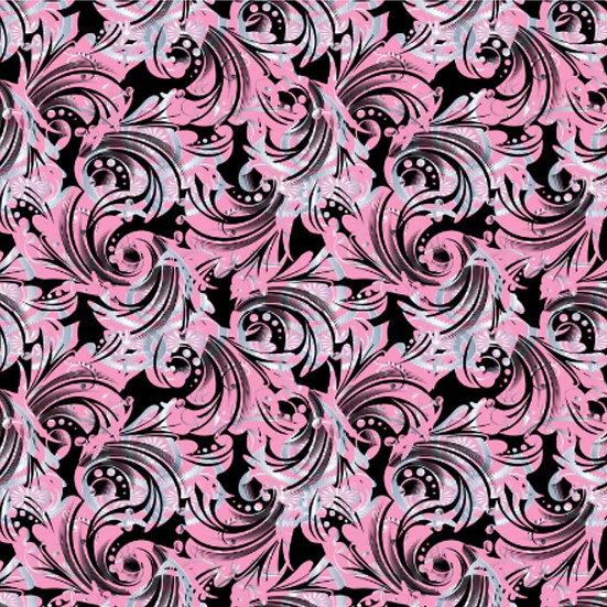 2019-50 Swirls, pink/white/black