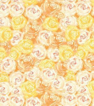 5.88 ROSES, YELLOW WITH FROST