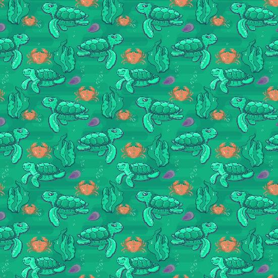 # 2019-42 Sea Turtles, green
