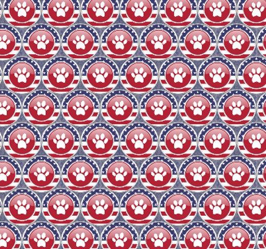 # 3.19-15 Patriotic Paw