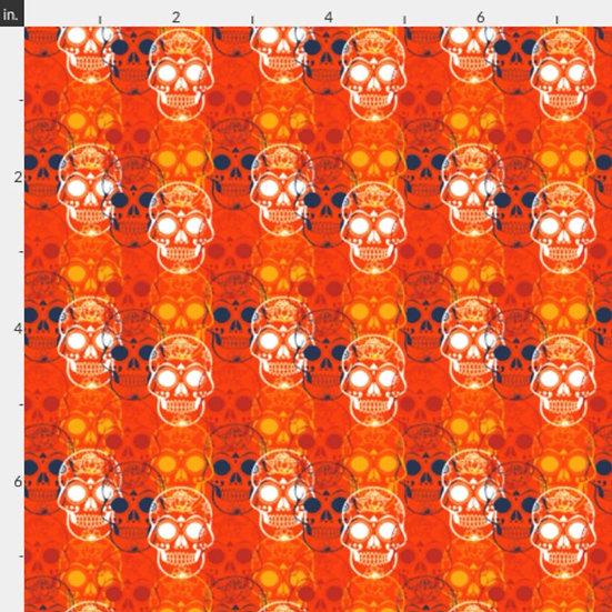 BF32 Skulls Camo Orange