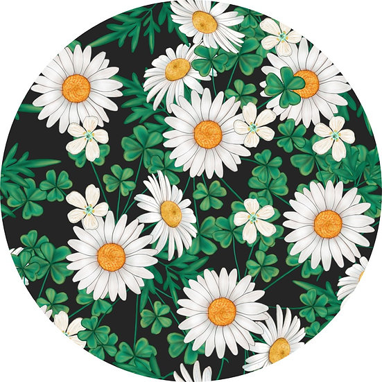 1-2020-22 Daisies and Shamrocks